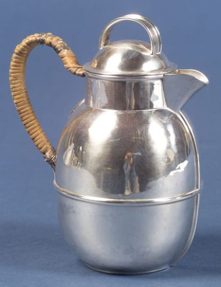 James T. Woolley Sterling Hot Water Pot