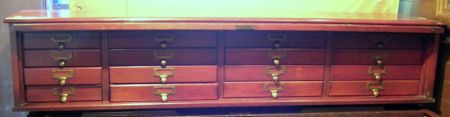 Early 20th Century American Cherry Cabinet