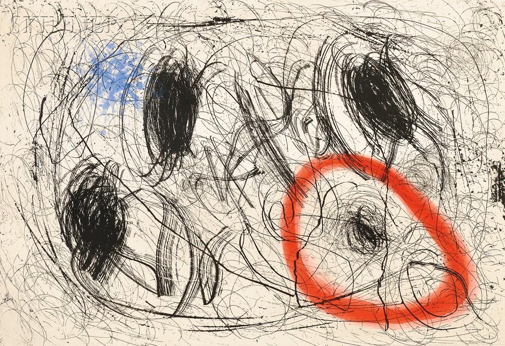 Joan Miró (Spanish, 1893-1983)      Le chevelure de Bérénice I