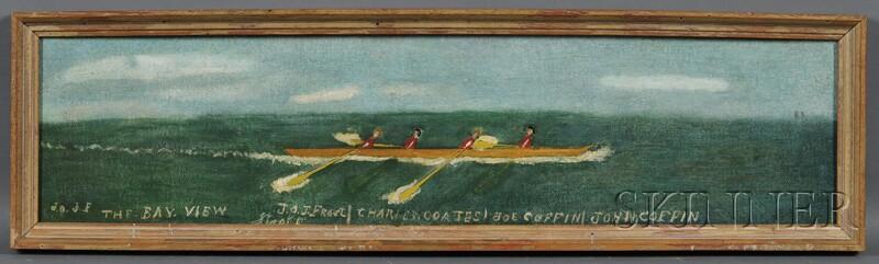 "Jonathan Orne Johnson ""J.O.J."" Frost (Marblehead, Massachusetts, 1852-1928)      THE BAY VIEW."