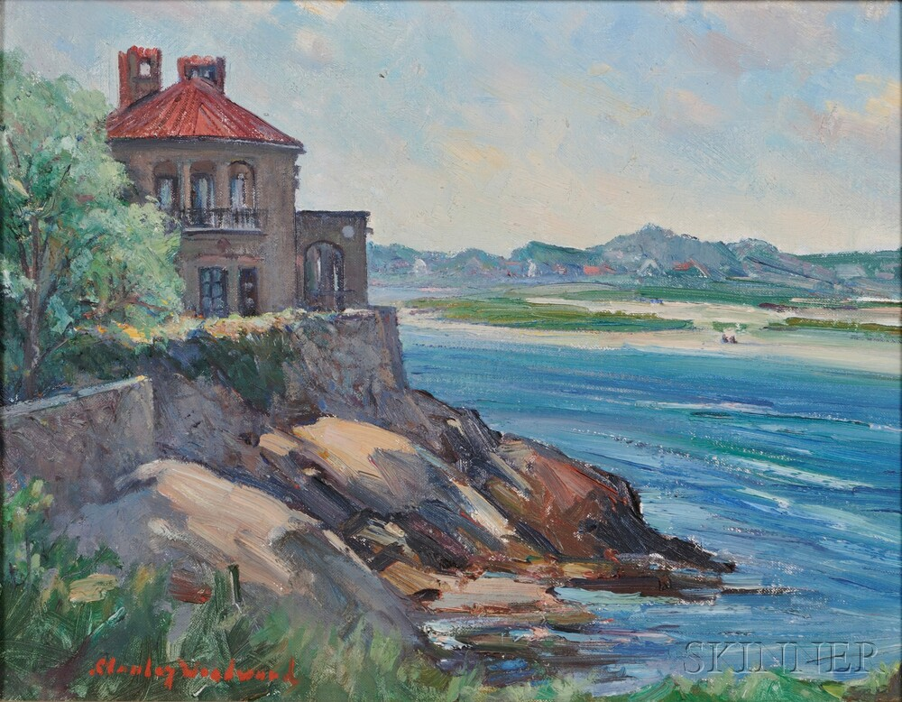 Stanley Wingate Woodward (American, 1890-1970) Rocks at