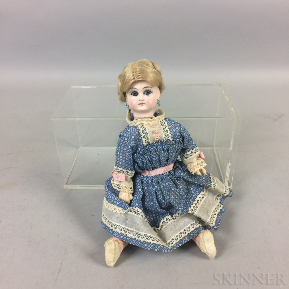 Closed Mouth Solid Dome Bisque Head Doll