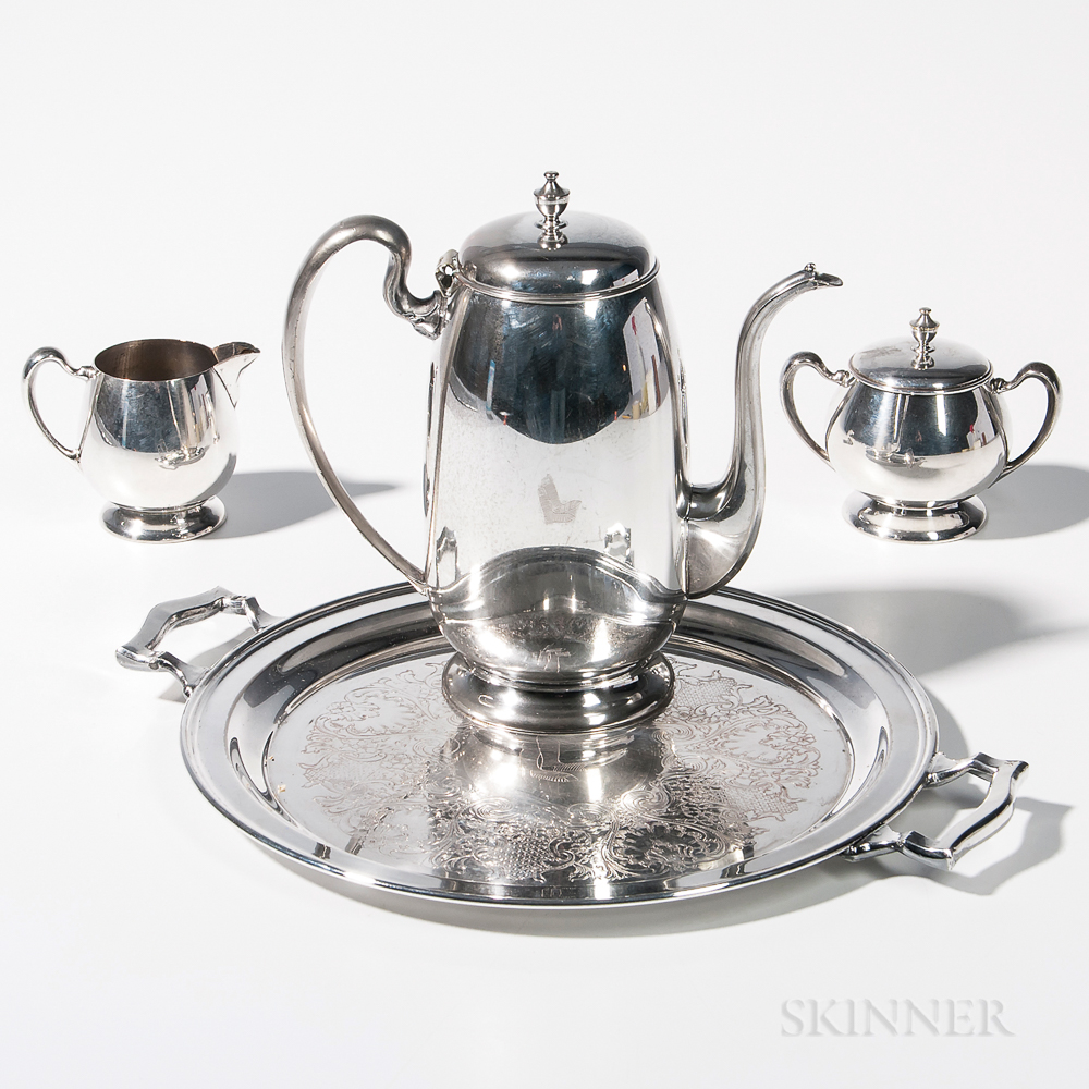 Red Sox Silver-plate Coffee Set