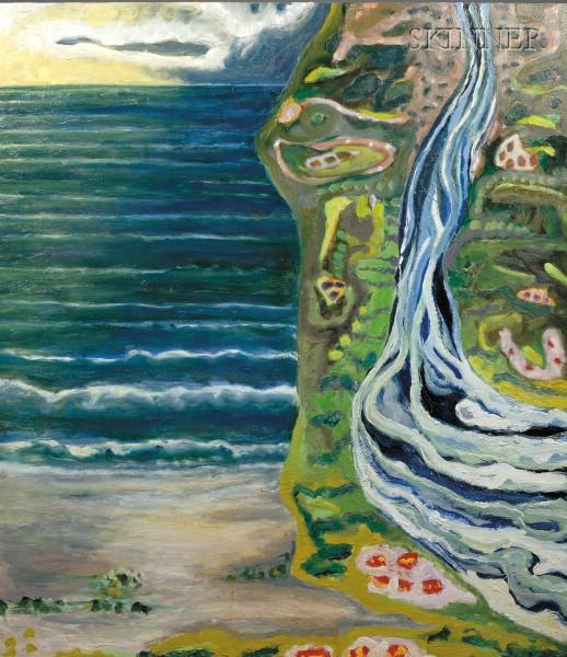 Gregory Amenoff (American, b. 1948)      River Sea