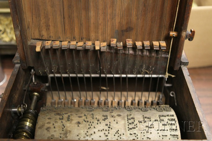 Walnut Street Piano with Jazz Band Automata