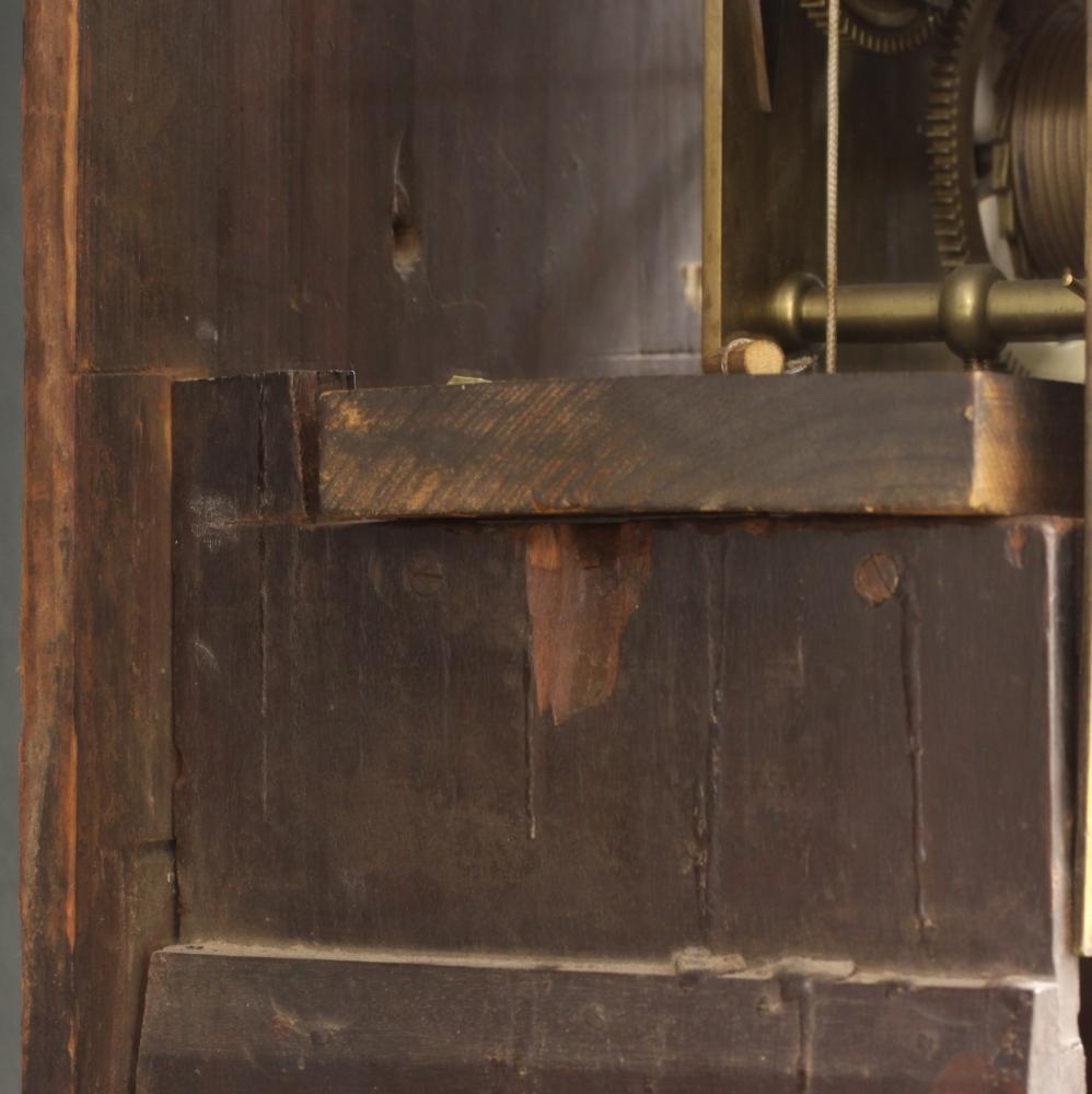 John Hamilton Mahogany Quarter-chiming Tall Clock
