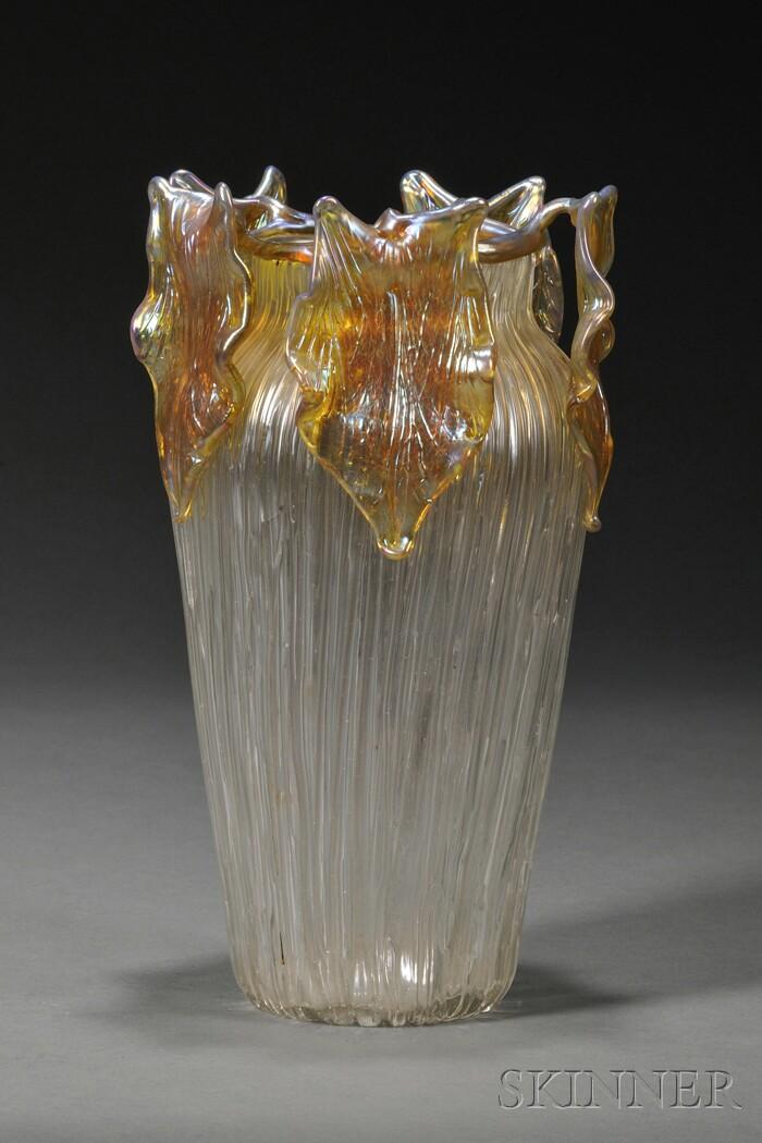 Loetz Gloria Art Nouveau Glass Vase