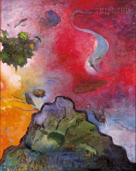 Josh Dorman (American, b. 1966)      Mountain Apparitions