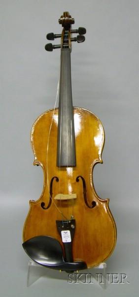 German Violin, c. 1890