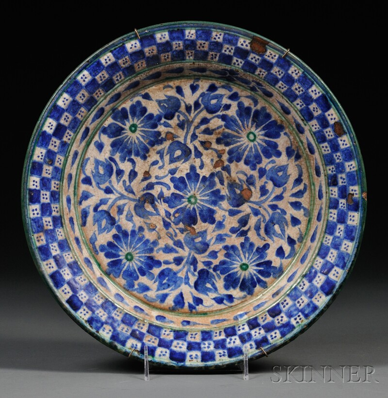 Tin Glazed Earthenware Charger