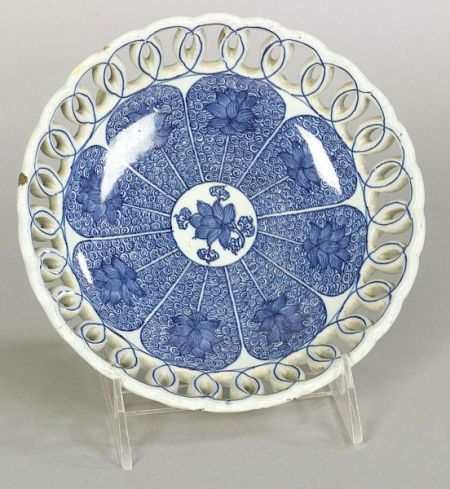 London Delftware Reticulated Bowl