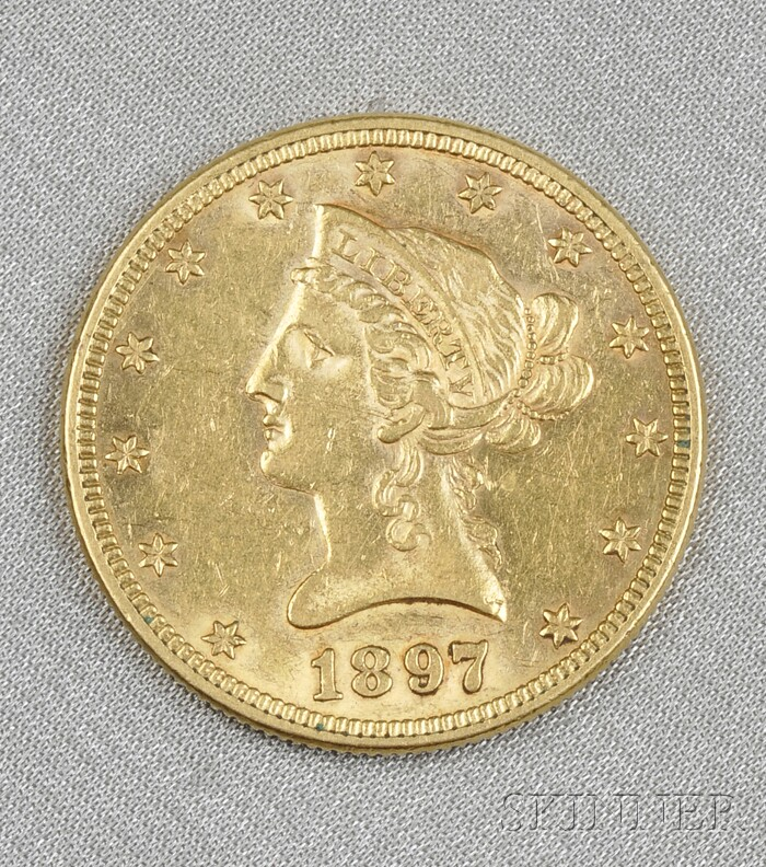 U.S. Liberty Head Ten Dollar Gold Coin