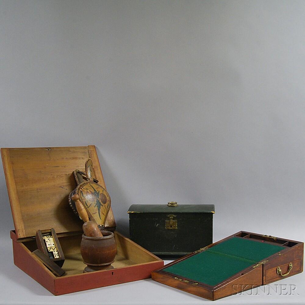Six Miscellaneous Wood Items