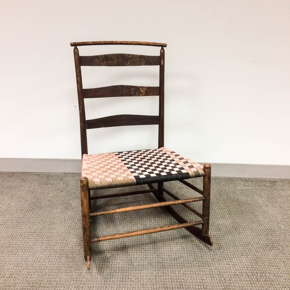 "Shaker ""No. 4"" Maple Rocking Chair"