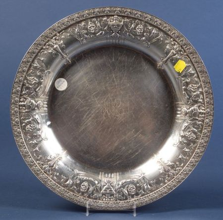 Dominick & Haff Sterling Salver
