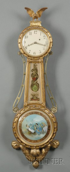 Bench-made Girandole Wall Clock