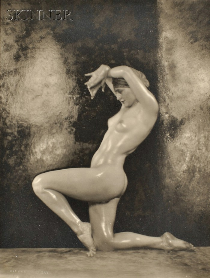 Nickolas Muray (American/Hungarian, 1892-1965)      Lot of Five Images of a Nude Dancer, Probably Martha Lorber