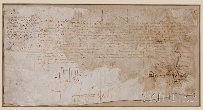 Henri IV, King of France (1553-1619)