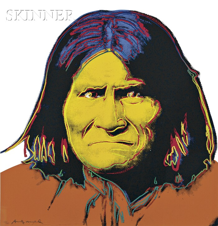 Andy Warhol (American, 1928-1987)      Geronimo
