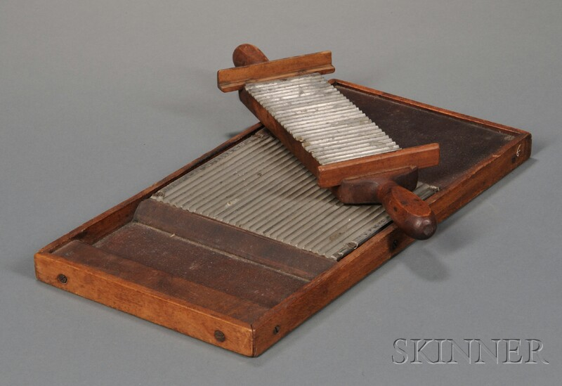 Shaker Pewter and Wood Pill-making Device