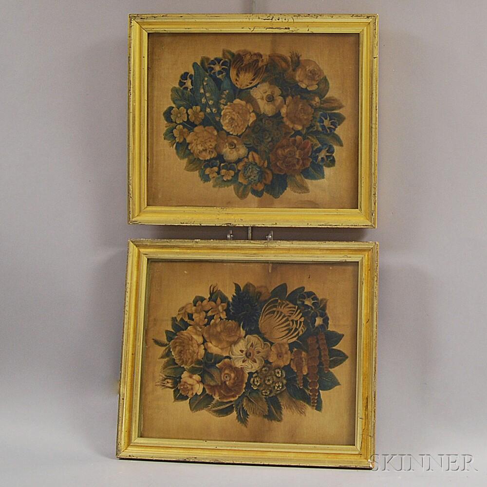 Two Framed Watercolor Theorems on Velvet
