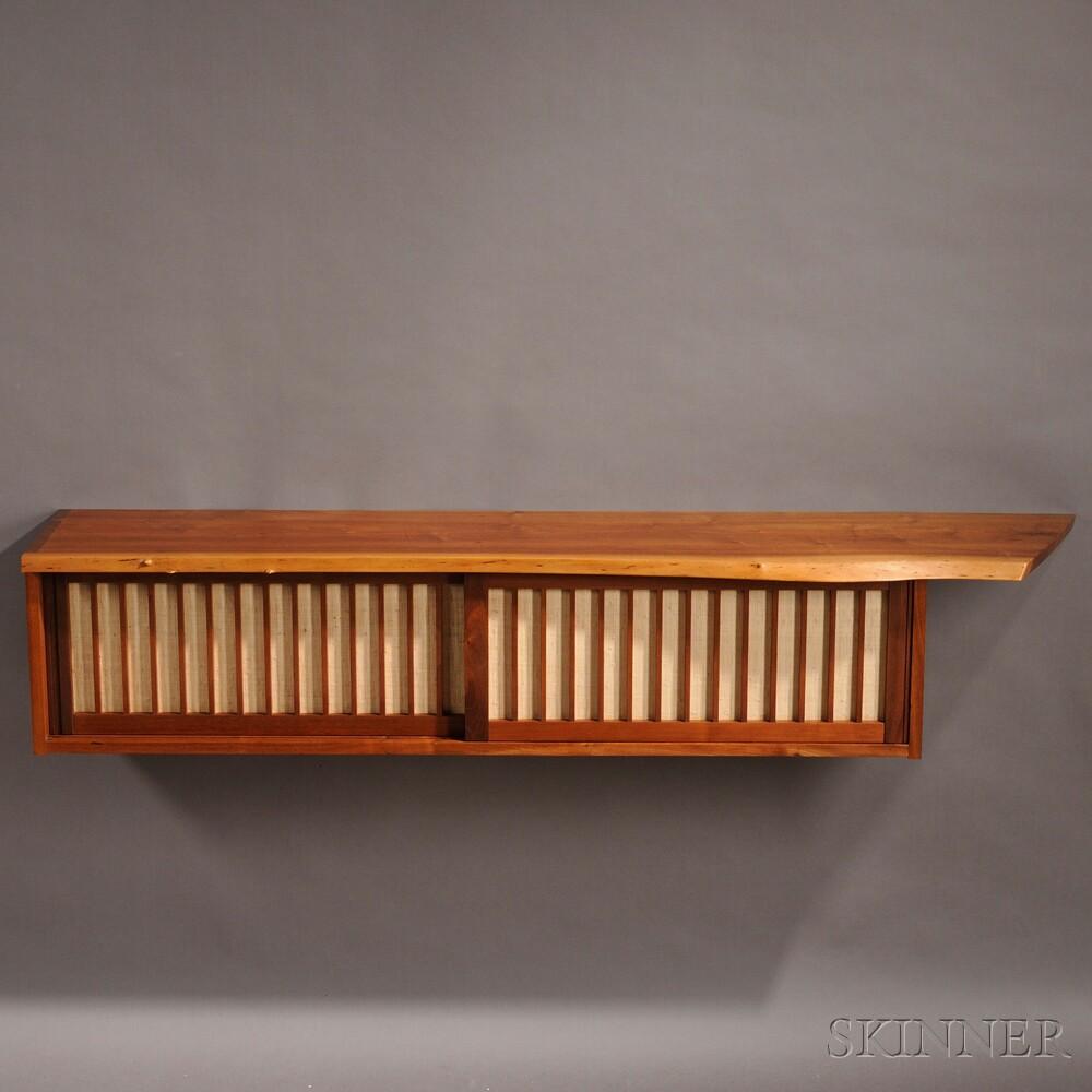 George Nakashima (1905-1990) Hanging Cabinet