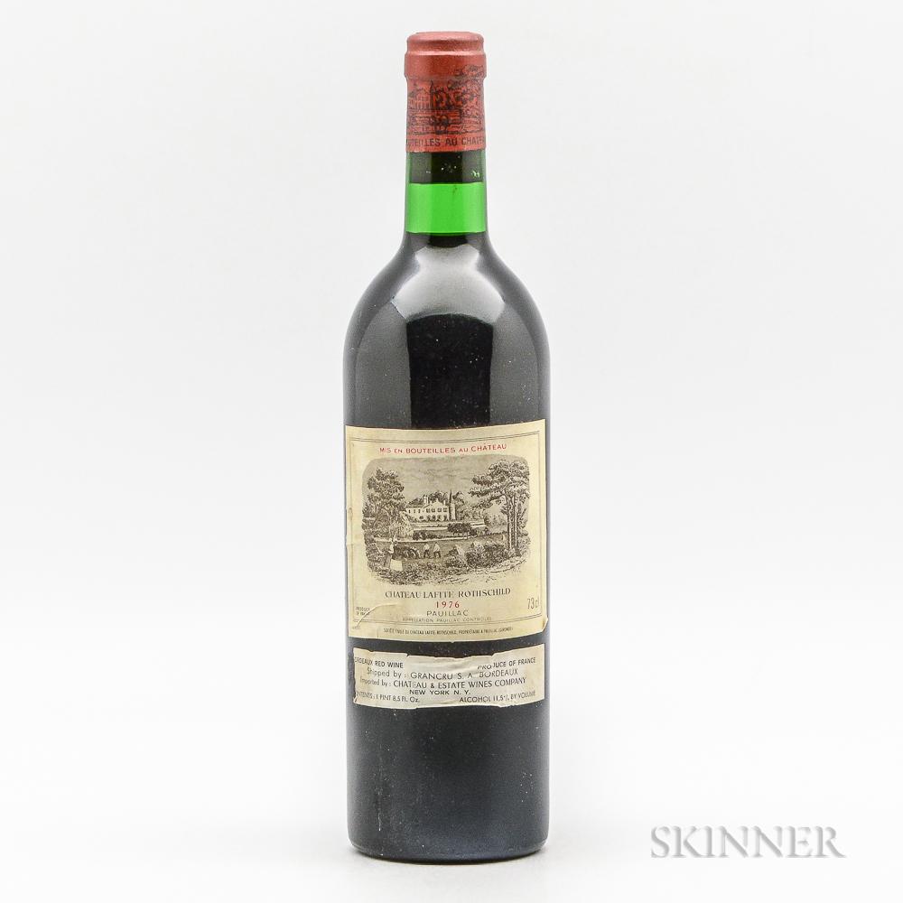 Chateau Lafite Rothschild 1976, 1 bottle