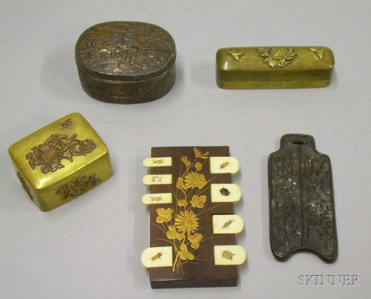 Group of Assorted Asian Items