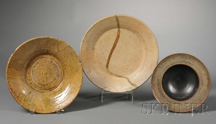 Three Pieces of Studio Pottery