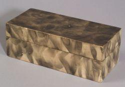 Smoke Decorated Painted Pine Box