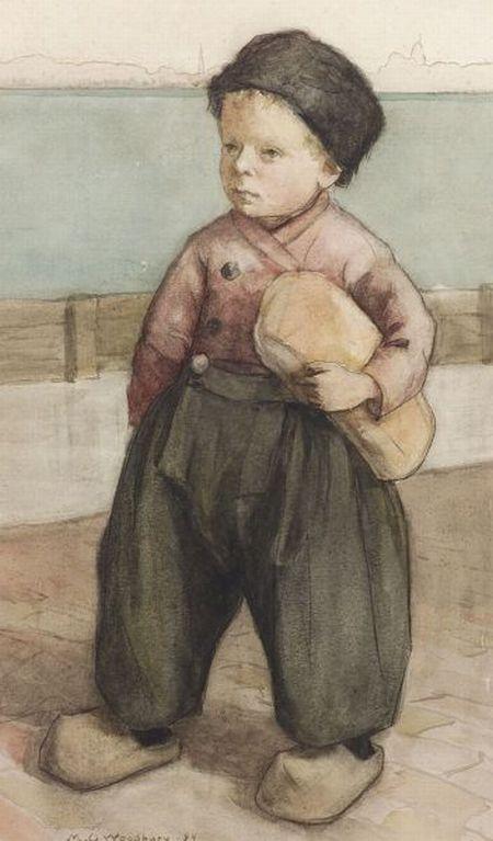 Maria Oakes Woodbury (American, 1865-1913)    Little Dutch Boy