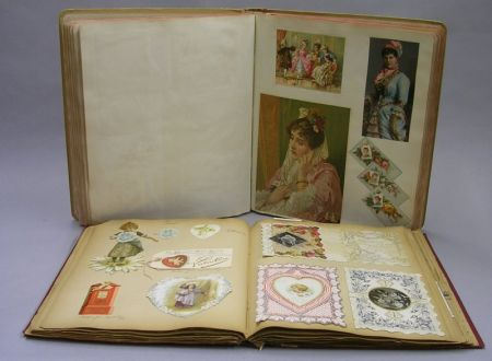 Two Victorian Scrapbooks