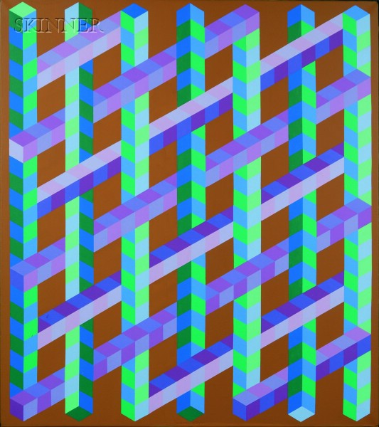 Victor Vasarely (French, 1908-1997)      Korlat