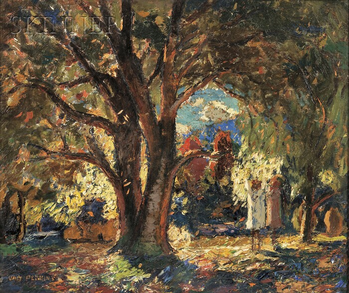 Van Dearing Perrine (American, 1869-1955)      Autumn Day