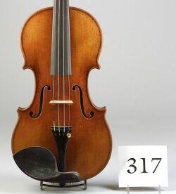 German Violin, Heinrich Thomas Heberlein, Jr., Markneukirchen, 1921