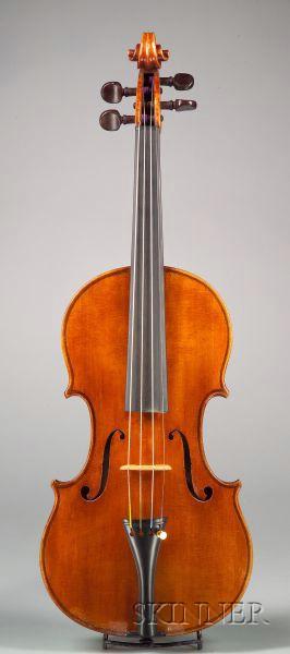 Modern Italian Violin, Giacomo and Leandro Bisiach, Milan, c. 1939