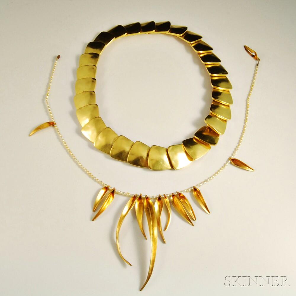 Fringe Necklace, Robert Lee Morris