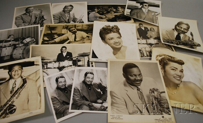Fifteen Duke Ellington and Orchestra Member Publicity Portrait Photographs