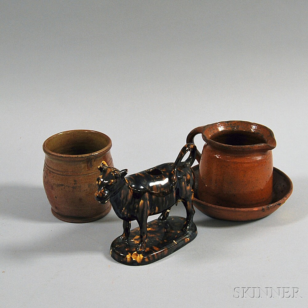 Four Pottery Items
