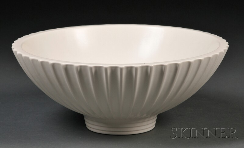 Wedgwood Norman Wilson Design Moonstone Glazed Bowl