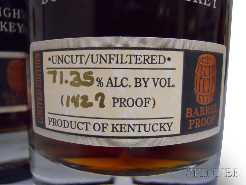 Buffalo Trace Antique Collection George T. Stagg 2003, 3 750ml bottles (oc)