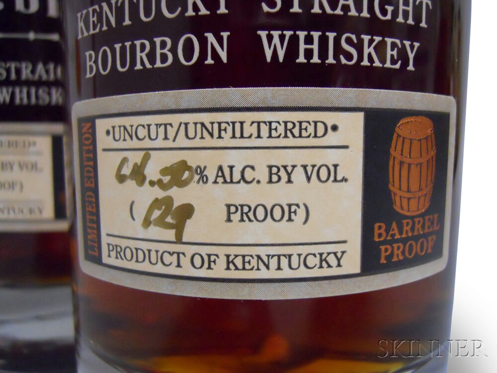 Buffalo Trace Antique Collection George T. Stagg 2004, 3 750ml bottles (oc)