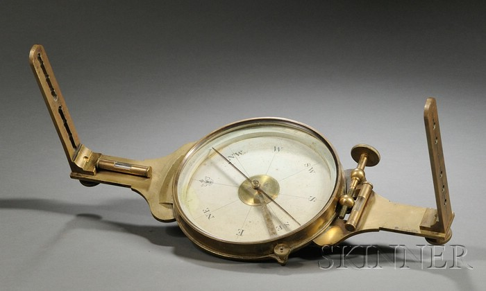 Brass Surveyor's Compass