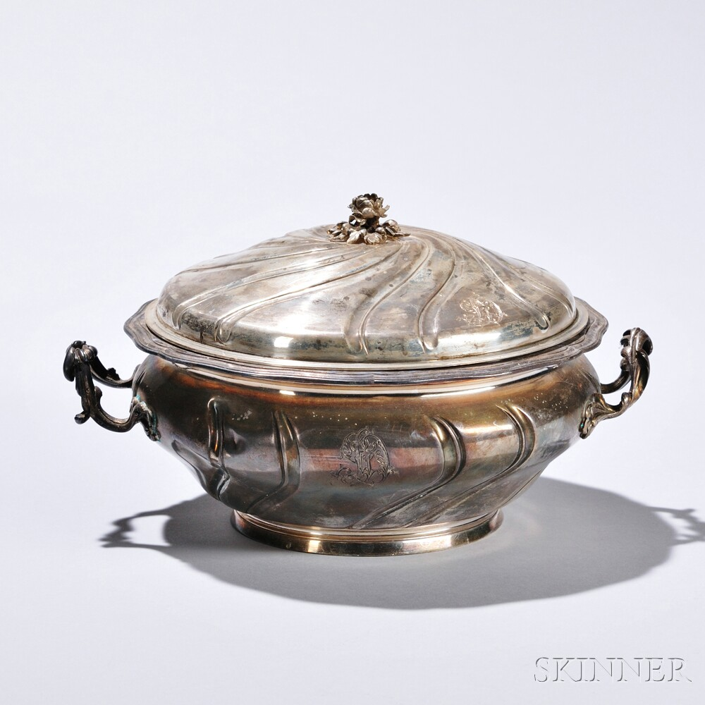 French .950 Covered Vegetable Dish