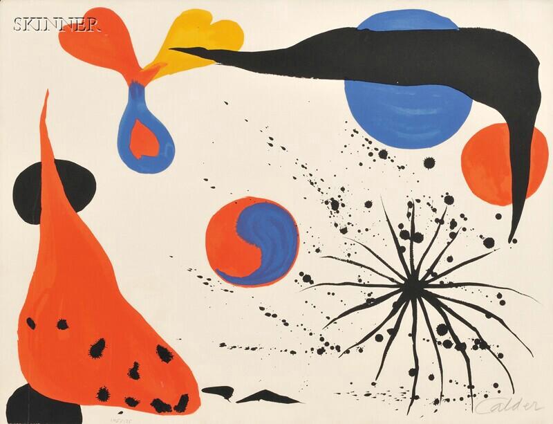Alexander Calder (American, 1898-1976)      Untitled (Yin-Yang)