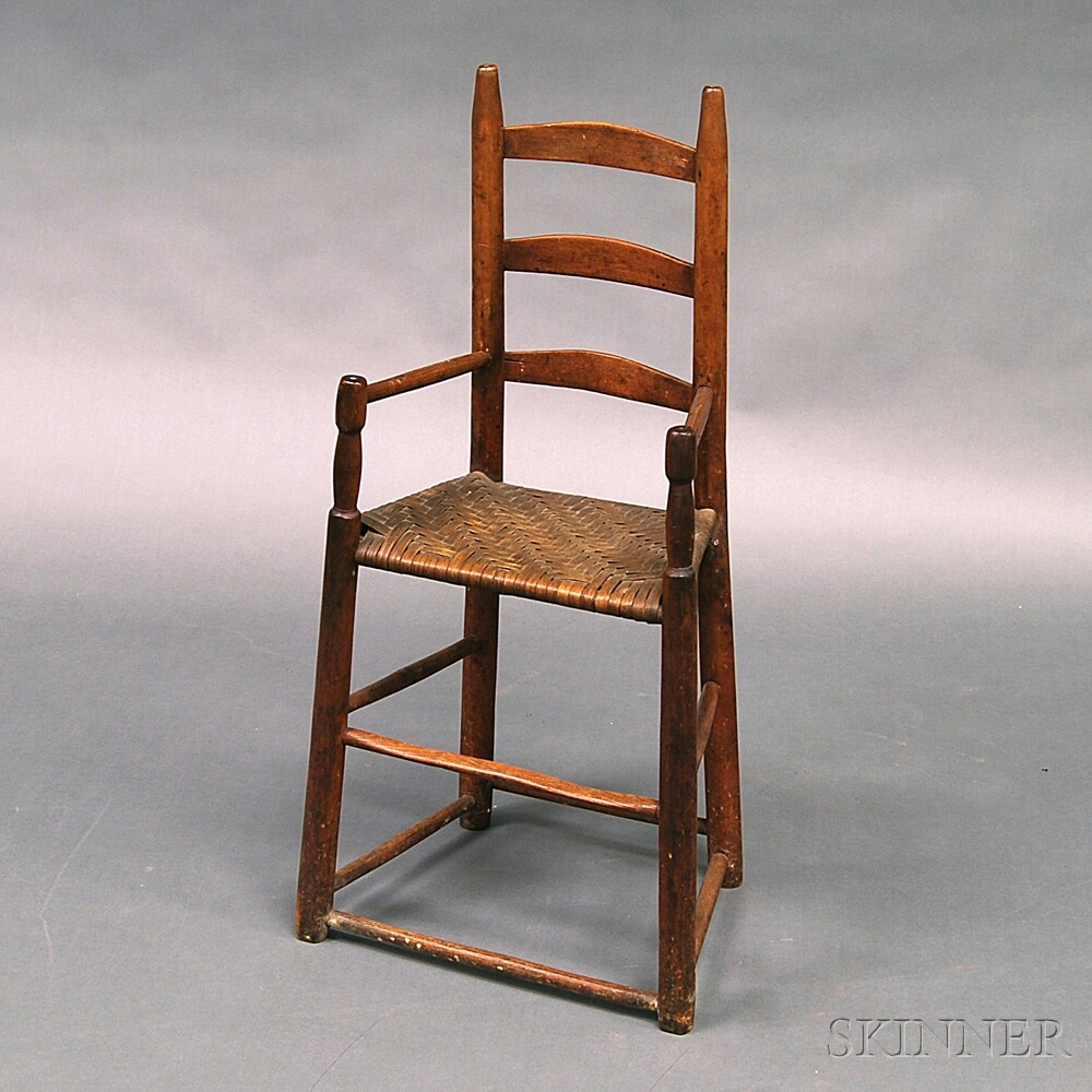Country Ladder-back High Chair