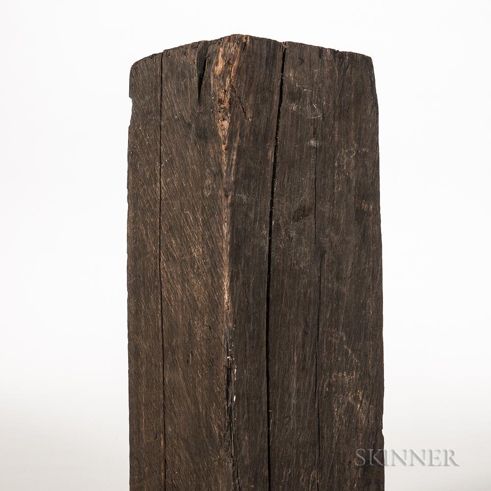 Ebony Log
