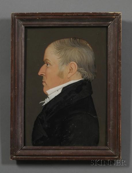 Attributed to Benjamin Greenleaf (Massachusetts, 1786-1864)      Portrait of a Gentleman.