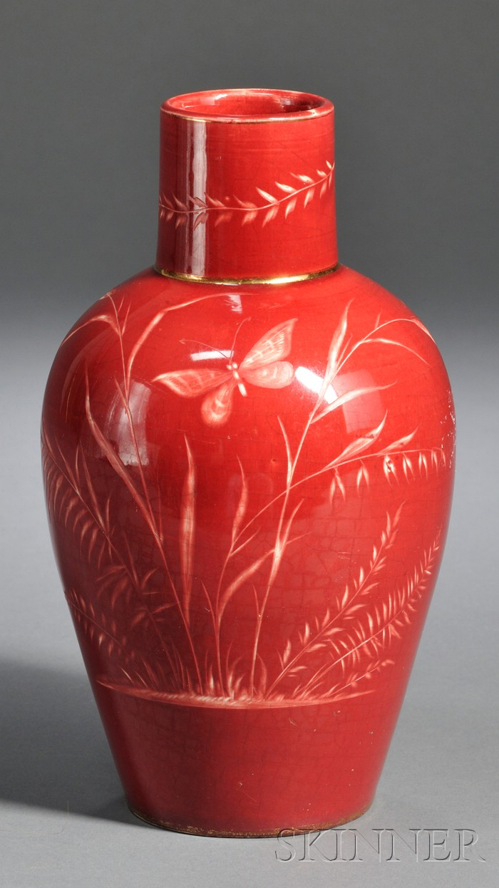 Art Nouveau Art Pottery Vase