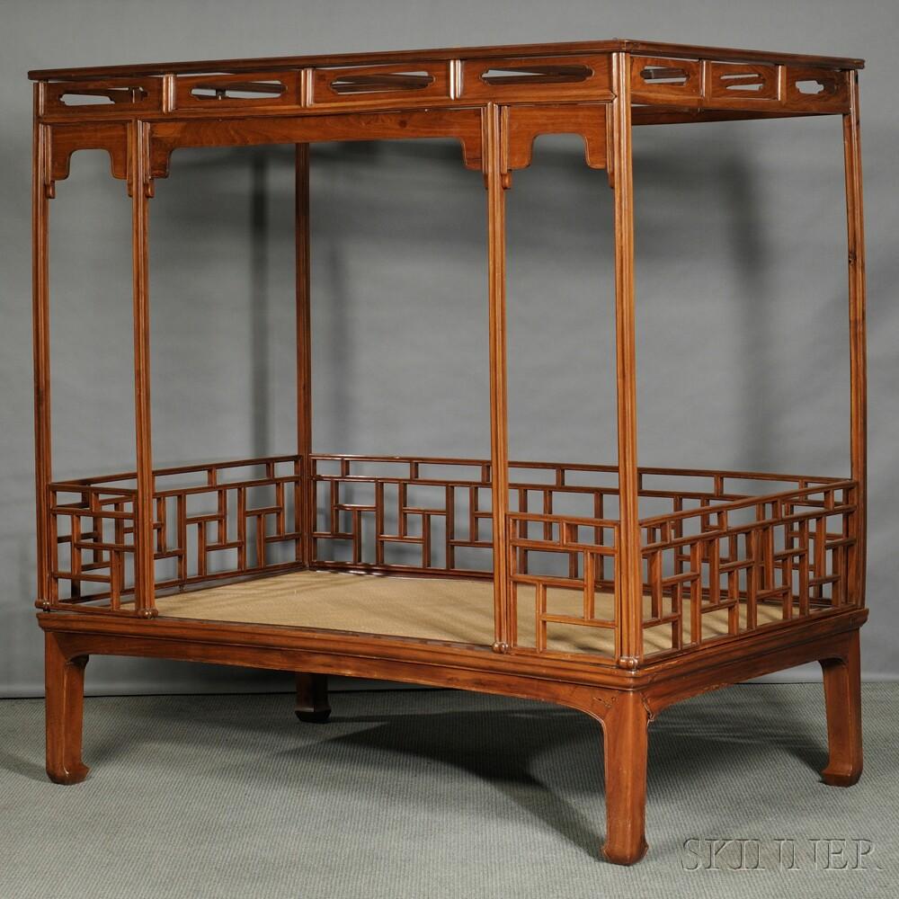 six post tester bed sale number 2701m lot number 421. Black Bedroom Furniture Sets. Home Design Ideas